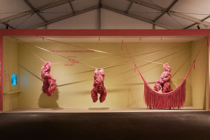 'Pink Beasts' by Fernando Laposse at Design Miami 2019