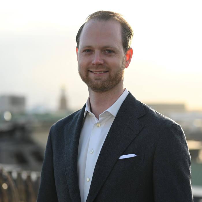 Oscar Hållén, General Counsel at Klarna Bank