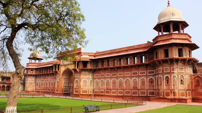 Red Fort, A 15th century UNESCO site in Agra, India