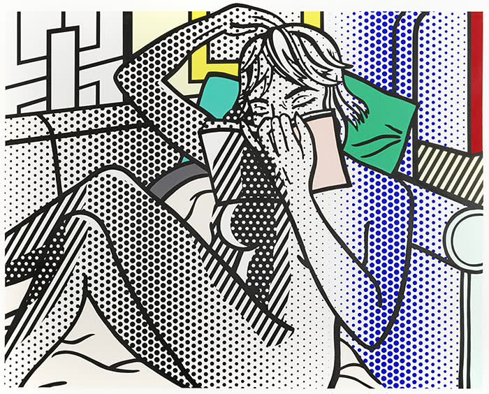 Bonham's Prints and Multiples] Roy Lichtenstein (American, 1923-1997) Nude Reading, from Nudes series
