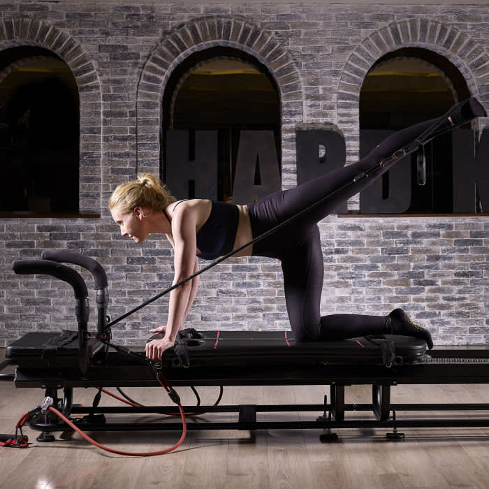 Centred on the 'Megaformer' machine, the H-Kore workout mixes resistance training with cardio