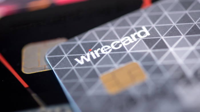 23 August 2018, Germany, Aschheim: Credit cards for contactless payment are on a table in a Wirecard showroom. Photo: Sven Hoppe/dpa | usage worldwide