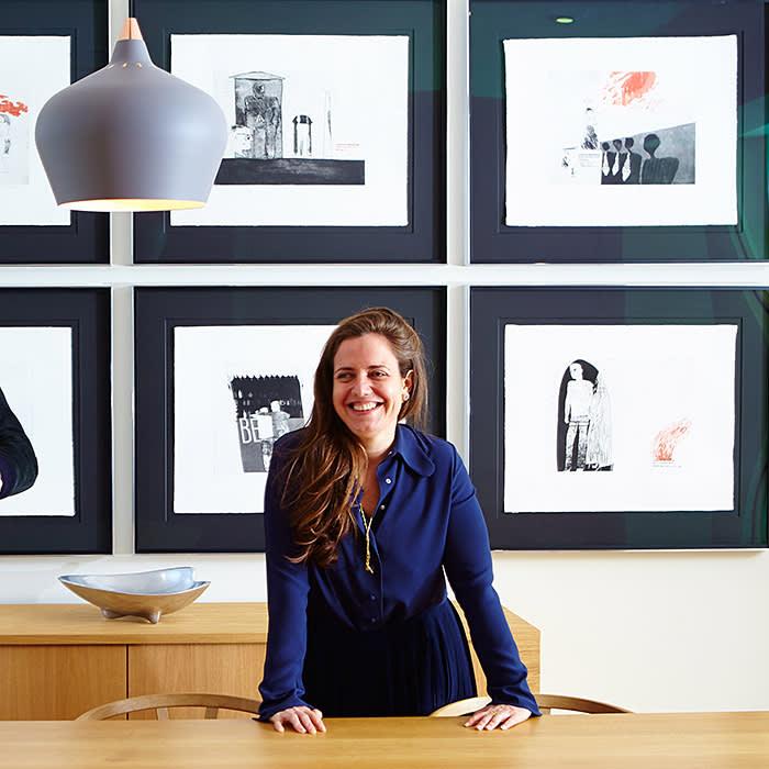 Lyndsey Ingram in her gallery . PR provided
