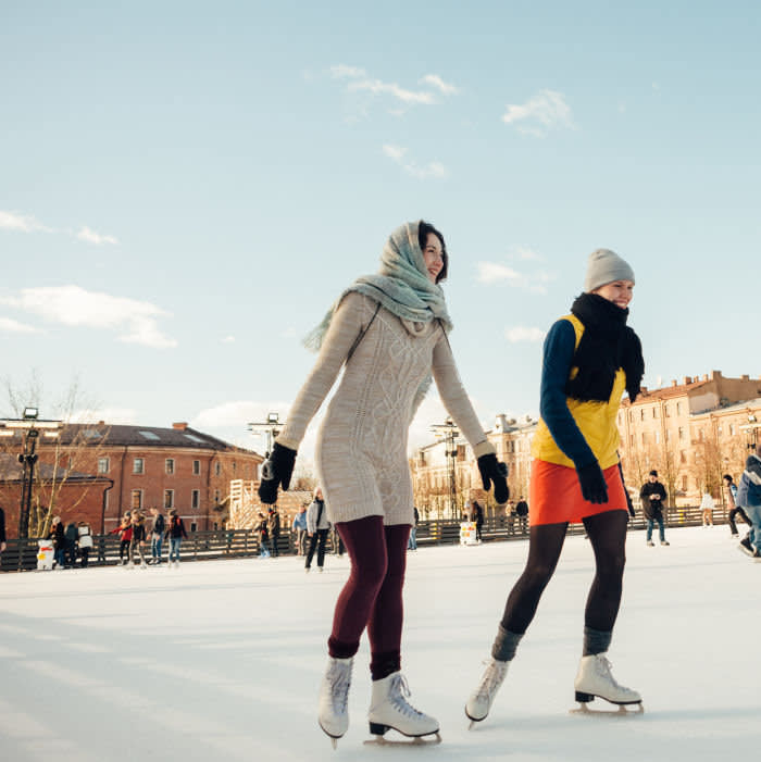 Ice Rink New Holland St Petersburg . PR Provided