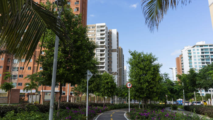 New high-rises have mushroomed in recent years