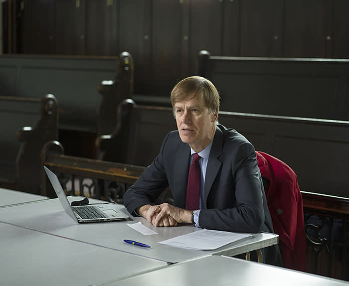 """Stephen Timms MP, who is campaigning for some of those accused of cheating. Their treatment has run, he says, """"contrary to all principles of natural justice"""""""