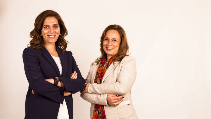 (L) Dr Mairose Doss, Co-founder and Chief Operating Officer of Dawi Clinics and (R) Magda Habib, Co-founder and CEO of Dawi Clinics.