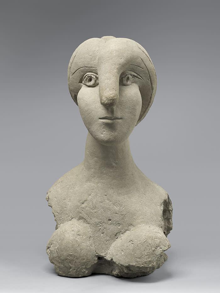 Pablo Picasso Bust of a Woman (Buste de femme) 1931 Cement 780 x 445 x 500 mm Musée National Picasso © Succession Picasso/DACS London, 2017