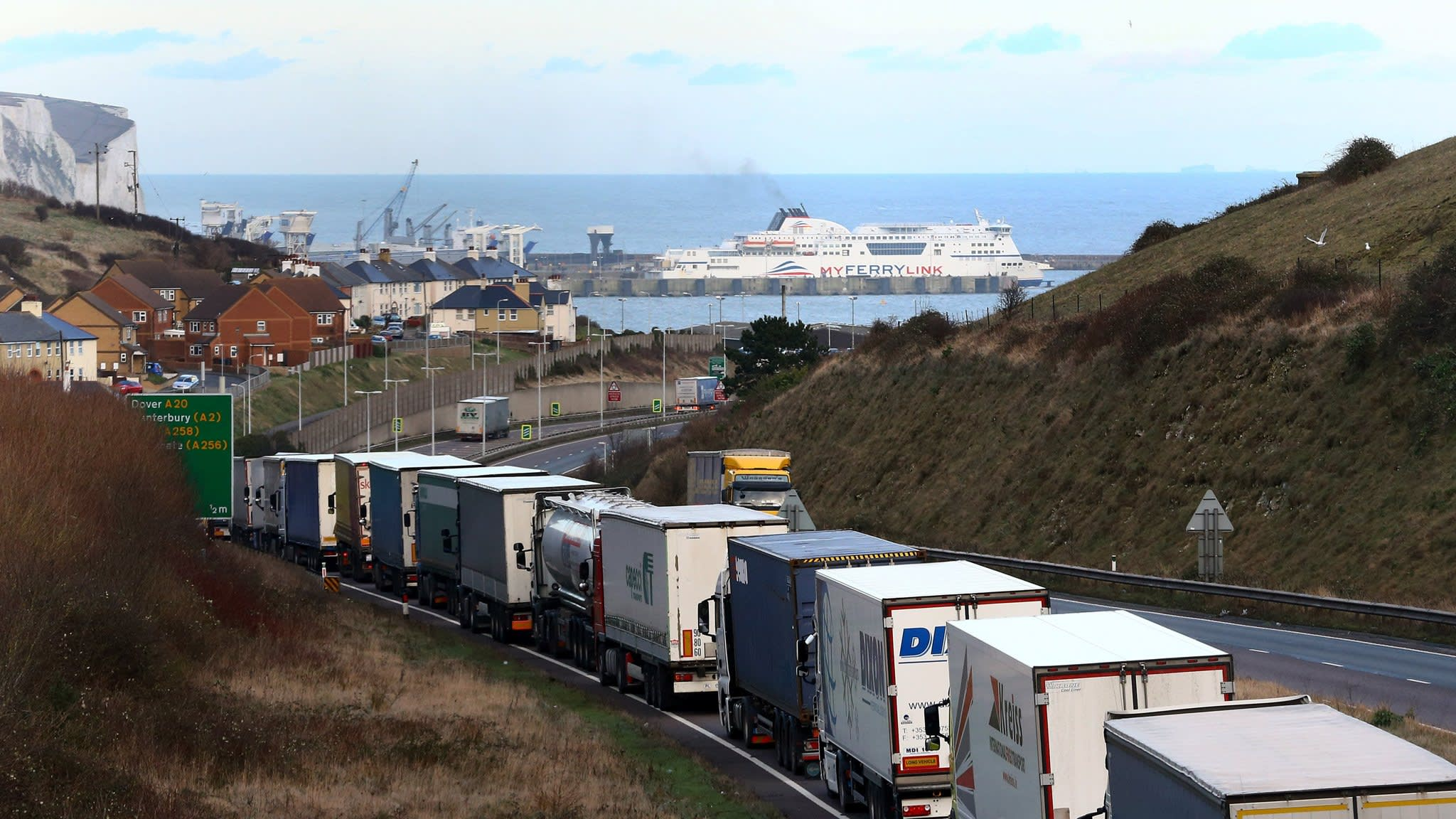 UK readies flotilla plan for supplies in no-deal Brexit | Financial Times