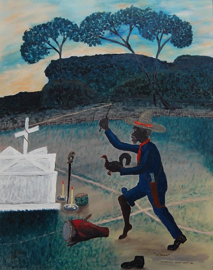 Le Houngan (1969) Edger Jean-Baptiste (1917 – 1992) courtesy // The Gallery of Everything © Edger Jean-Baptiste // The Gallery of Everything