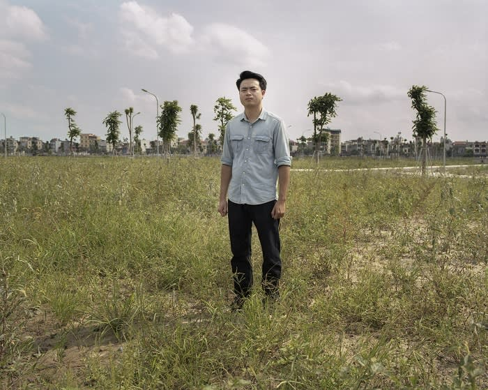 Social activist Nguyen Anh Tuan belongs to Vietnam's small but vocal dissident community, and has written on Facebook about large land deals involving the country's private companies and government officials