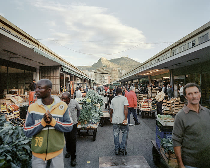 Palermo's wholesale market, which was regulated by a Mafia-operated 'invisible control room'