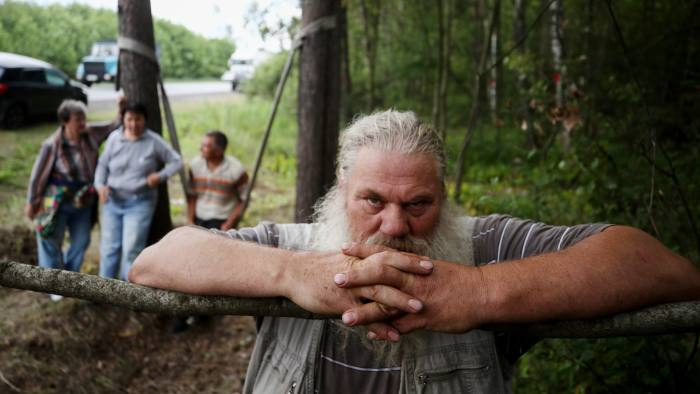 MOSCOW REGION, RUSSIA JULY 17, 2019: A forest tent camp of environmental activists protesting against the construction of a waste recycling plant near the town of Likino-Dulyovo. Sergei Bobylev/TASS (Photo by Sergei Bobylev\TASS via Getty Images)