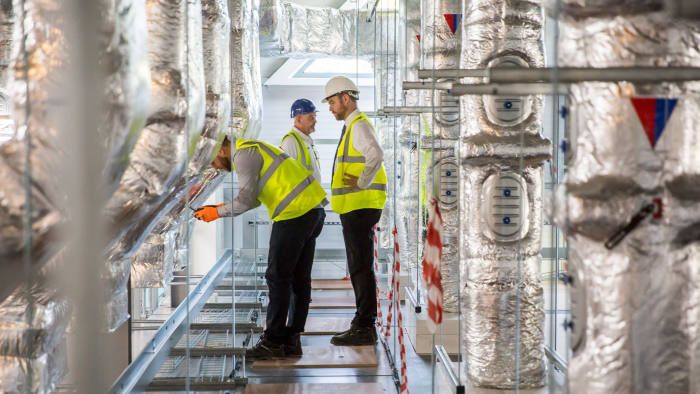 oxford nanopore harwell campus building construction photograph