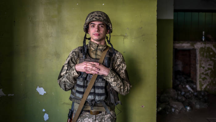 Europe's forgotten war. By David Bond. The conflict in Eastern Ukraine between Russian backed separatists and Ukrainian forces has been raging for 4 years and claimed 10,000 lives yet largely forgotten in the West. Anton Nakastyolov in The front line town of Avdiivka near Donetsk in Eastern Ukraine.