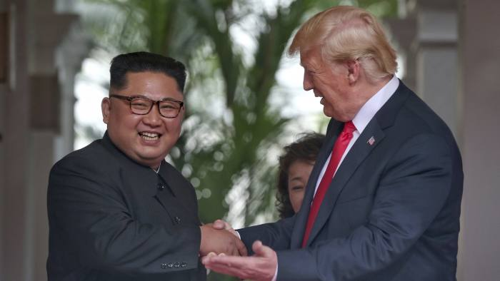 In quotes: Donald Trump and Kim Jong Un | Financial Times