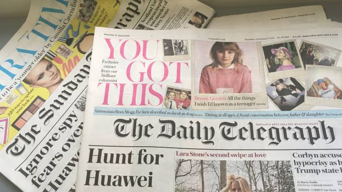 Telegraph Media to cut 50 jobs in shift to subscription