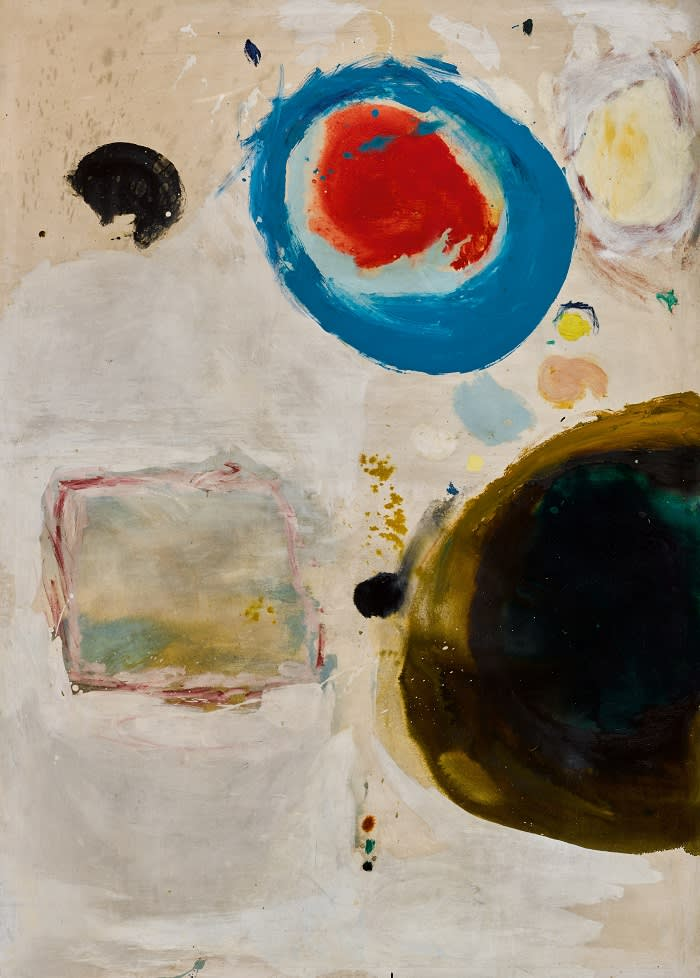 Gillian Ayres, Nimbus, 1961, oil and Ripolin on canvas (est. L40,000-60,000)