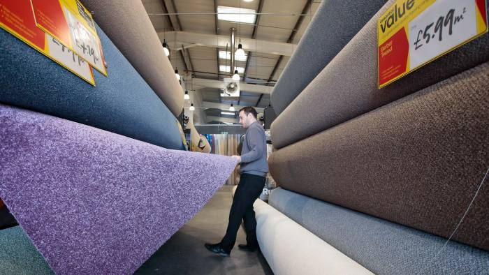 Carpetright has struck a creditors' voluntary agreement with its landlords to reduce rents © Bloomberg