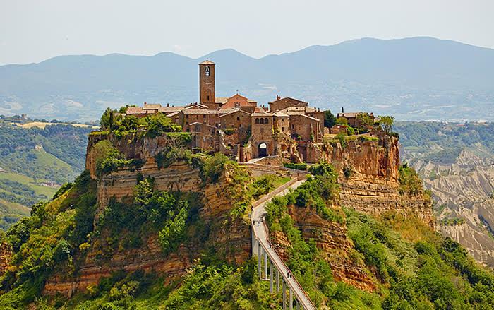 BORGHI of ITALY - #NO(F)EARTHQUAKE  Old town of Bagnoregio  Italian Pavilion
