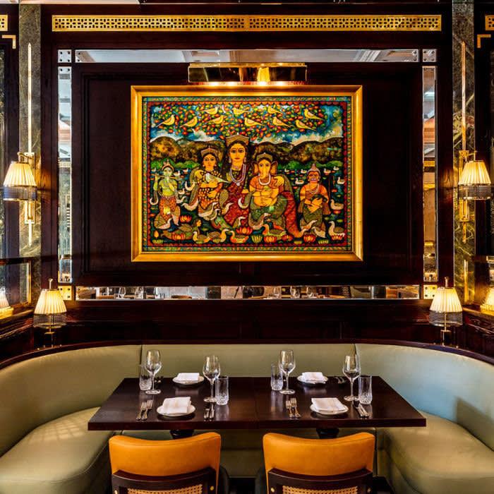 Jamavar, London CREDIT: CHRIS ORANGE