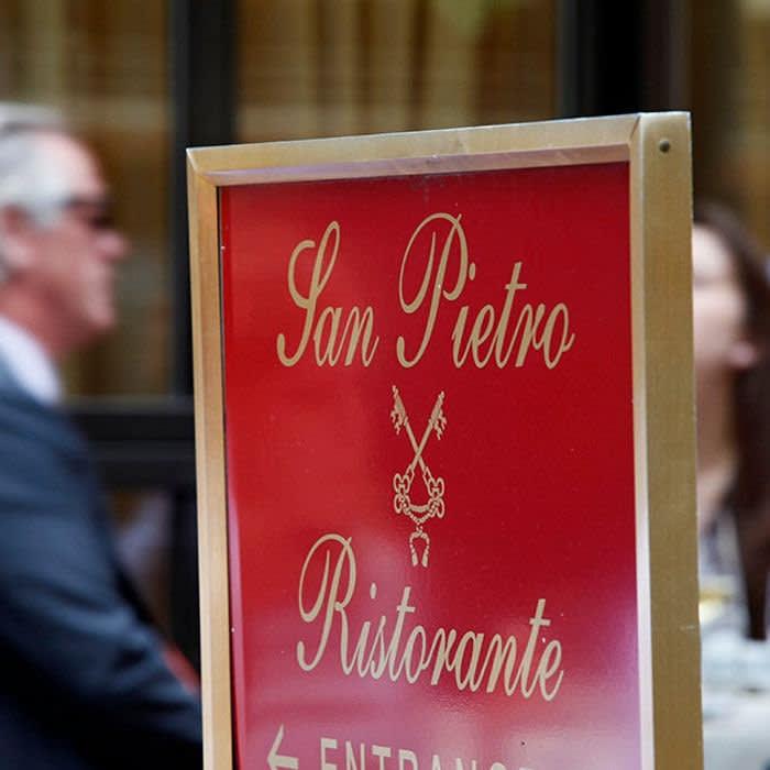 San Pietro Restaurant, NYC