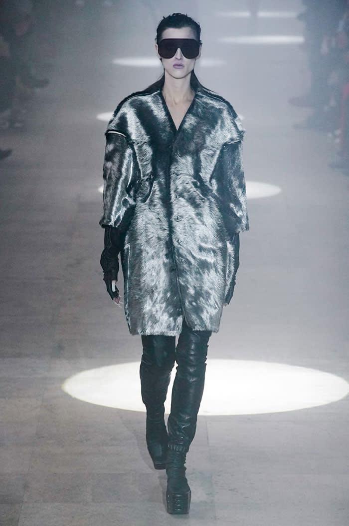 Rick Owens' Nutria coat