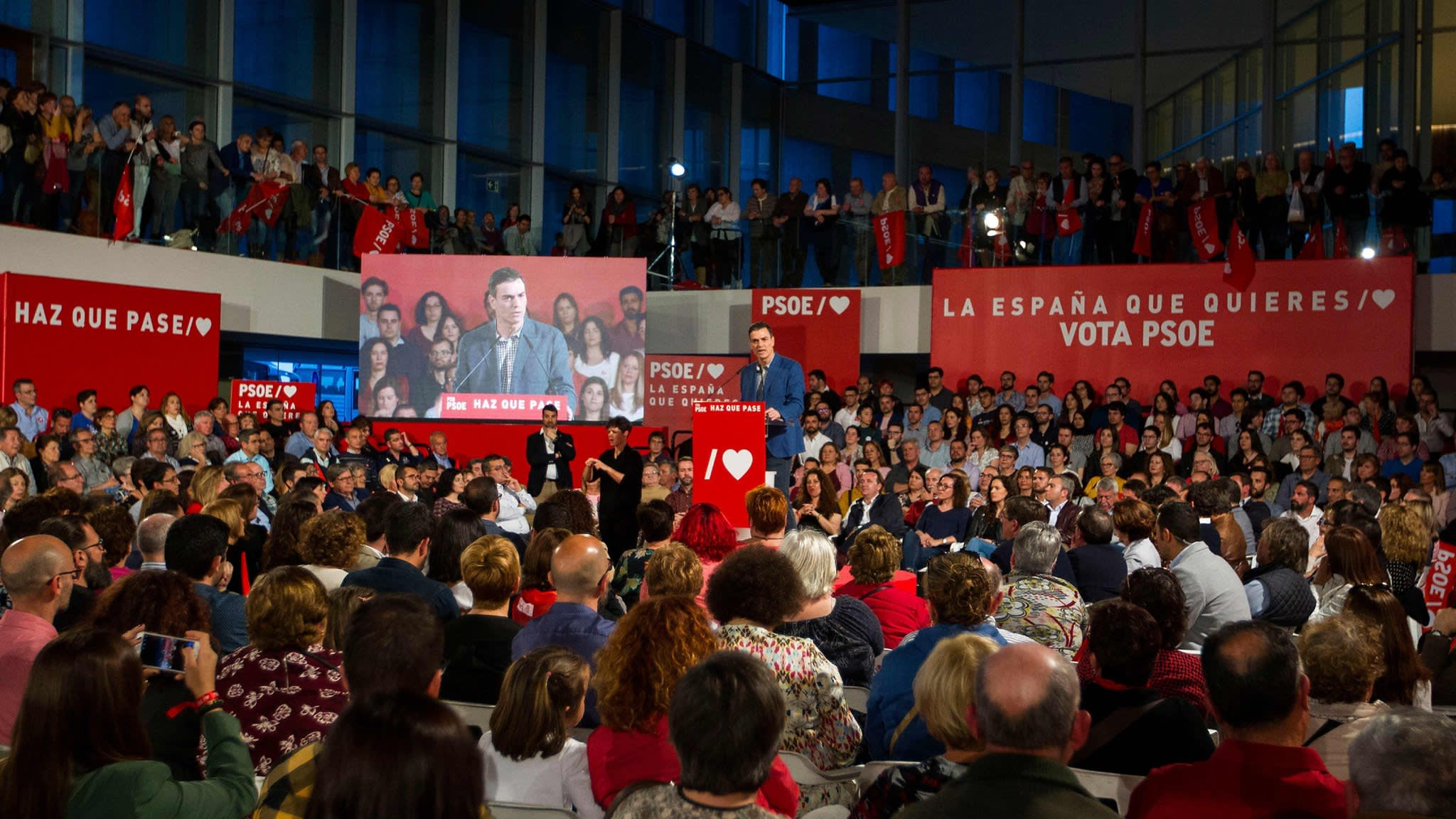 Spanish elections, US GDP, China naval parade | Financial Times