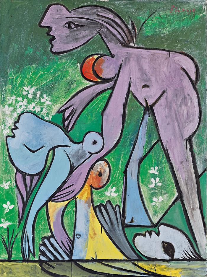 Pablo Picasso The Rescue (Le sauvetage) 1932 Oil paint on canvas 1445 x 1122 x 77 mm Fondation Beyeler, Riehen/Basel, Sammlung Beyeler © Succession Picasso/DACS London, 2017