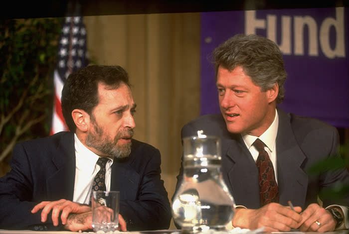 Robert Reich, who was Labor secretary under Bill Clinton, is a Sanders backer. 'I don't dislike the rich at all,' he says. 'But as a group they hang out too much together'