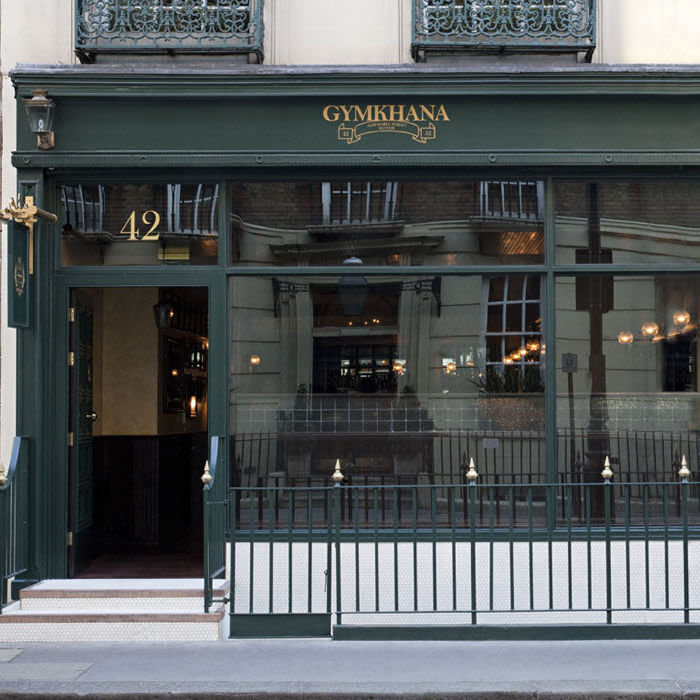 Currently closed following a fire, business diners' favourite Gymkhana will reopen early next year