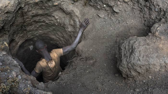 Democratic Republic of Congo accounts for 60% of world supply of cobalt