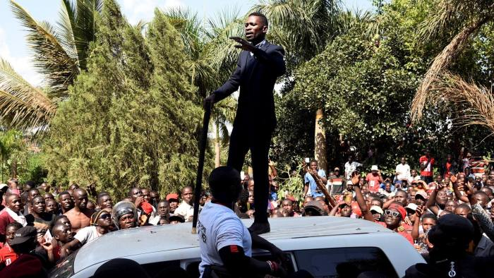 Bobi Wine's pop star politics poses threat to Uganda's status quo