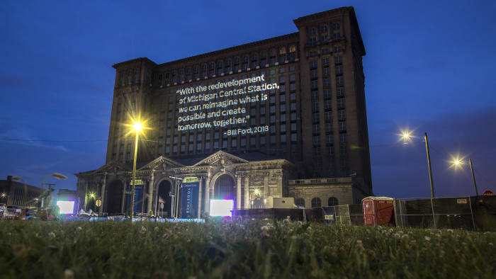 Light Projections At Michigan Central Station 2018 - Handout