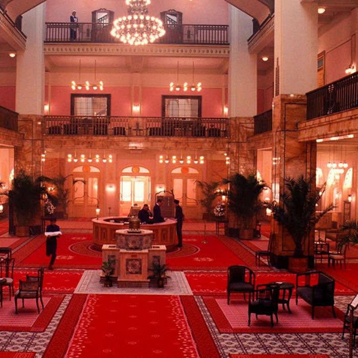 Hotel Budapest film still
