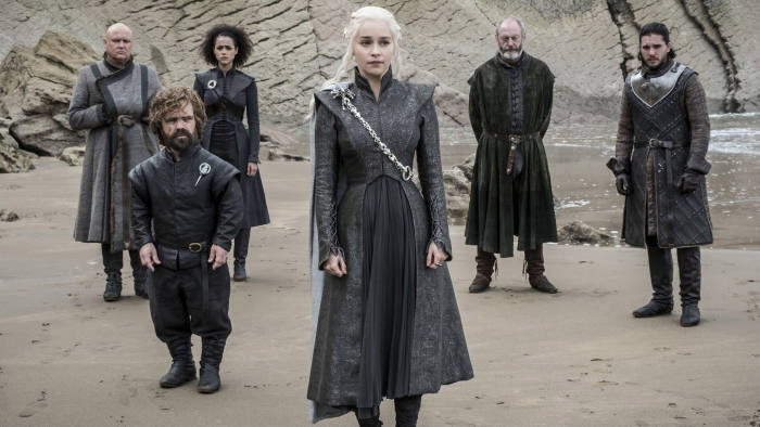 This image released by HBO shows a scene from an episode of