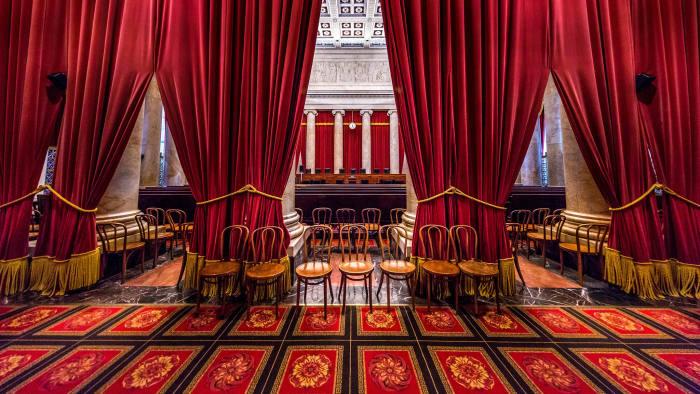 United States Supreme Court Chamber - Washington DC