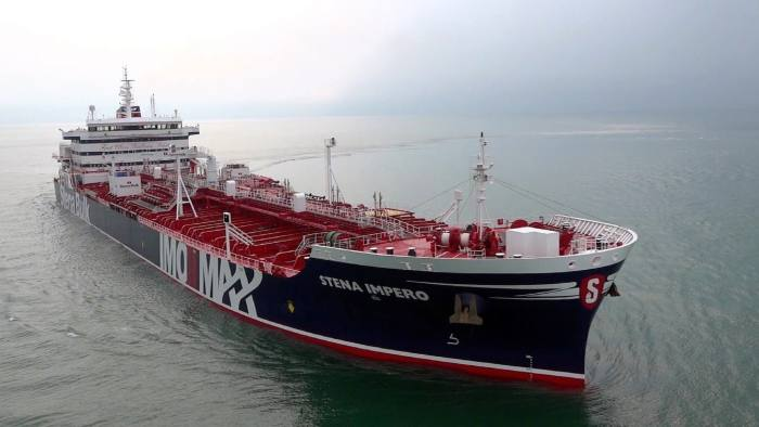 Iran seizes two UK-linked tankers in Strait of Hormuz