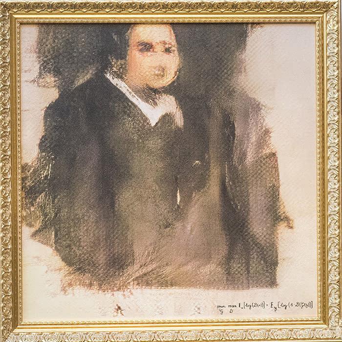 'Portrait of Edmond de Belamy', created by Obvious
