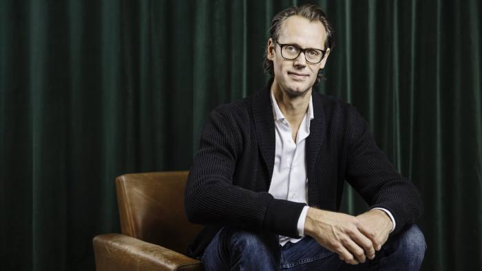 Jacob de Geer CEO of iZettle
