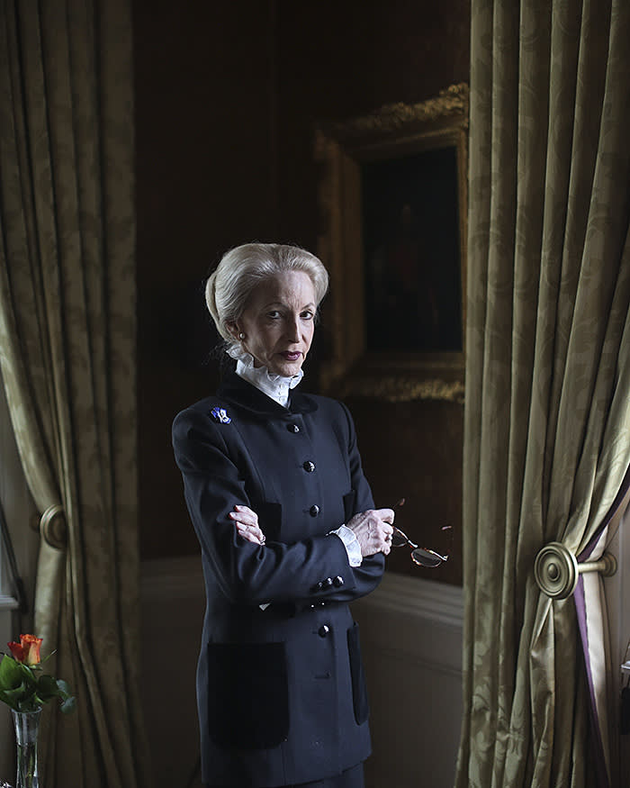 Lady Barbara Judge, photographed at the IOD in London