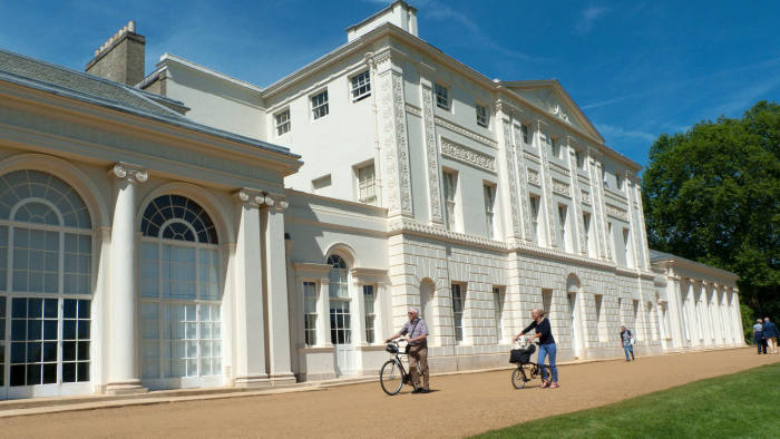 Kenwood House in north London, where the Rembrandt usually hangs