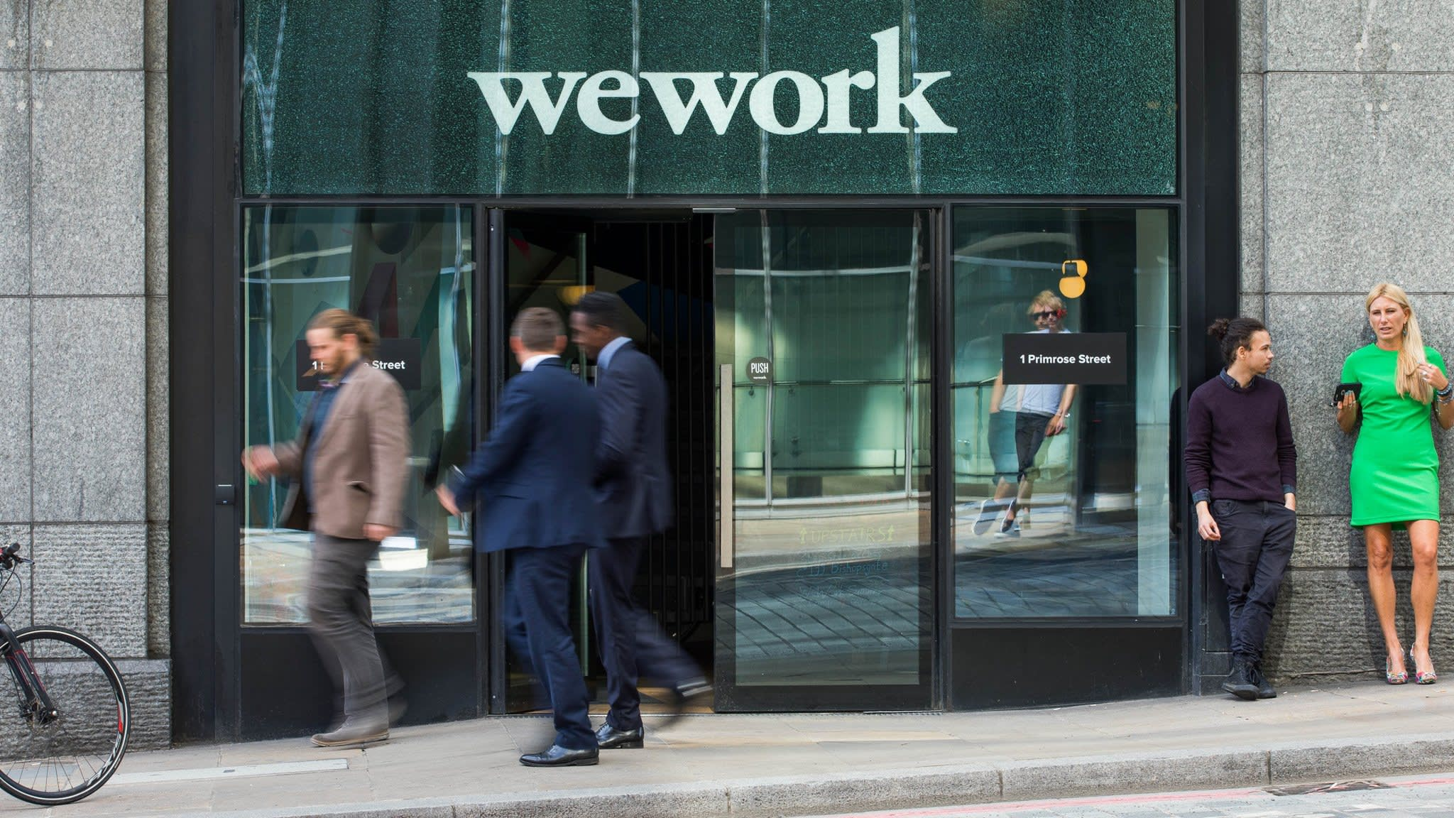 WeWork's take-up of London office space almost halves | Financial Times