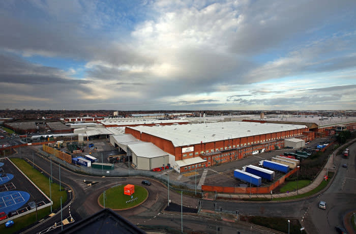 Castle Bromwich: once a manufacturing hub for military aircraft in the second world war, now a production facility for Jaguar Land Rover