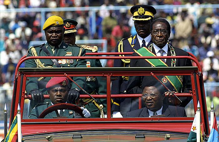 Former Zimbabwean president Robert Mugabe, August 2005