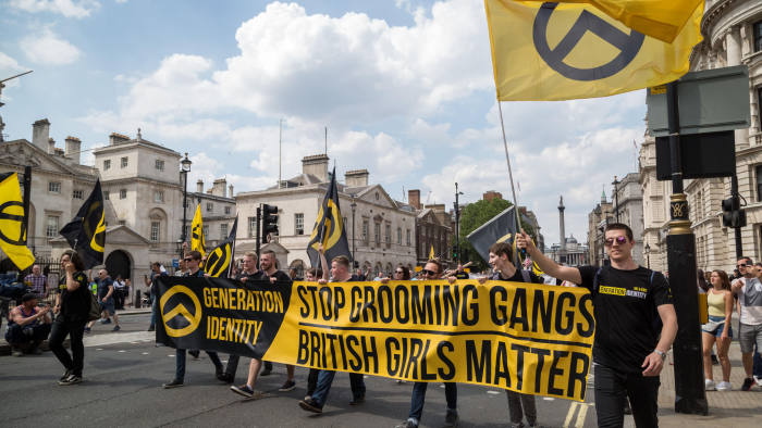 Financial Times From Fringe Hate The Far-right Extremism Uk Spreads