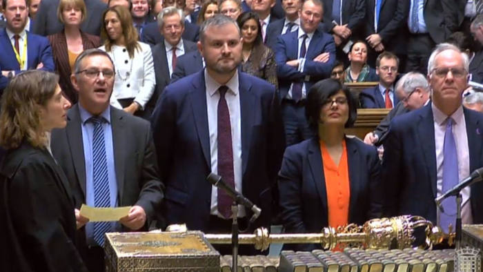 7th Brexit Amendment vote is announced in the House of Commons