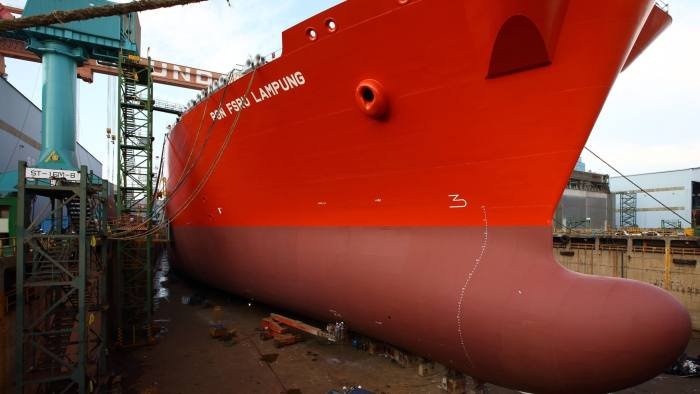 South Korea's biggest shipbuilder warns over US-China trade