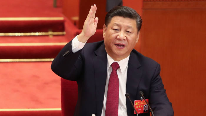 Xi Jinping S Claim To Mao S Mantle Carries Risks Financial Times