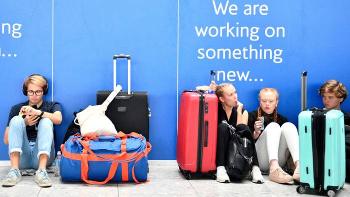 IT failure affects thousands of British Airways passengers